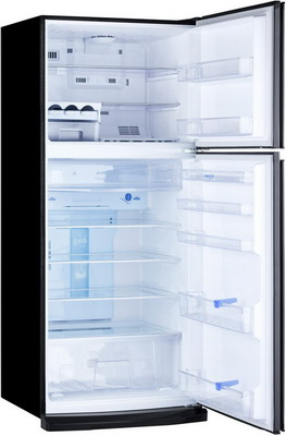 Двухкамерный холодильник Mitsubishi Electric MR-FR 62 K-SB-R холодильник mitsubishi mr lr78g st r