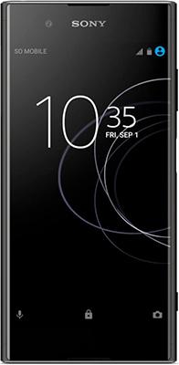 Мобильный телефон Sony Xperia XA1 Plus черный мобильный телефон sony ericsson u100i yari u100