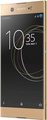 Мобильный телефон Sony Xperia XA1 Ultra Dual Sim золотой телефон huawei p smart 32gb dual sim золотой