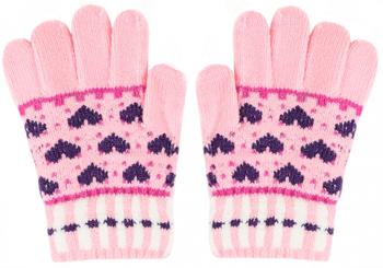 Перчатки детские Picollino GL-10577 pink fw 18 15 (9 лет) Розовый розовый цвет 9 12 months