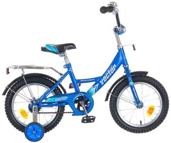 Велосипед Novatrack 143 VECTOR.BL5 14'' Vector синий велосипед novatrack 14 cosmic синий 143 cosmic bl5