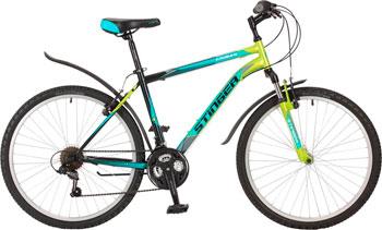 Велосипед Stinger 26'' Caiman 14'' зеленый 26 SHV.CAIMAN.14 GN7 stinger stinger велосипед 24 caiman 14 зеленый