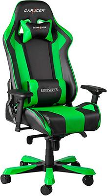 Кресло DxRacer OH/KS 06/NE (черно-зеленое) oh my god it s electro house volume 4