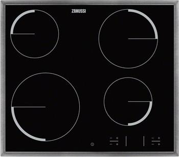Встраиваемая электрическая варочная панель Zanussi ZEV 56340 XB варочная панель электрическая zanussi zev 6340 xba черный