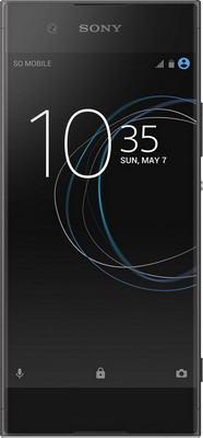 Смартфон Sony Xperia XA1 Dual Sim черный sony sony xperia m4 aqua dual e2333 черный 16гб 2 sim 4g lte 3g