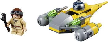 Конструктор Lego Микрофайтеры: Истребитель с планеты Набу 75223 Star Wars lego lego star wars 75092 истребитель набу™ naboo starfighter™