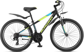 Велосипед Schwinn Breaker 24 чёрный цена