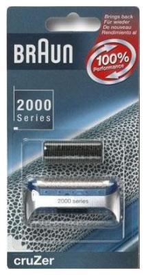 Cетка+режущий блок BRAUN 2000 (5733761) аксессуар braun series 2 cruzer 20s сетка и режущий блок