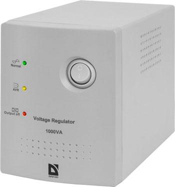 Стабилизатор напряжения и сетевой фильтр Defender AVR Real 2000 VA