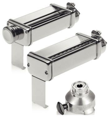 Комплект насадок для макаронных изделий с адаптером Bosch MUZXLPP1 комплект насадок bosch muzxlve1