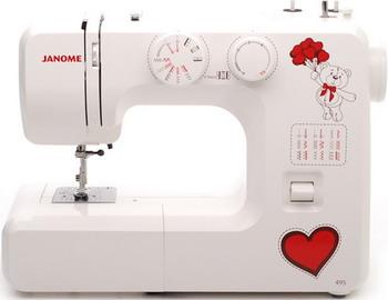 Швейная машина JANOME 495 электромеханическая швейная машина vlk napoli 2100