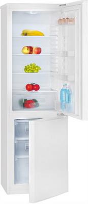 Двухкамерный холодильник Bomann KG 181 w двухкамерный холодильник don r 295 b