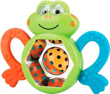 Зубопрорезыватель Happy Baby Frogus 330303 зубопрорезыватель happy baby silicone teether 20014