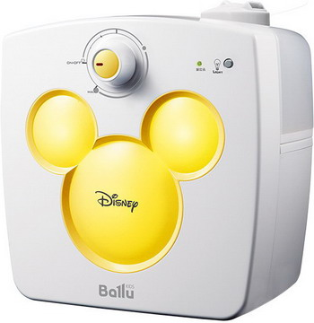 Увлажнитель воздуха Ballu UHB-240 Disney желтый ультразвуковой увлажнитель воздуха ballu uhb 400 венге