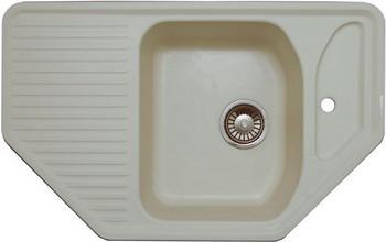 Кухонная мойка LAVA A.1 (VANILLA ваниль) кухонная мойка ukinox stm 800 600 20 6