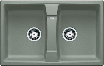 Кухонная мойка BLANCO LEXA 8 SILGRANIT серый беж blanco lexa 8 s шампань
