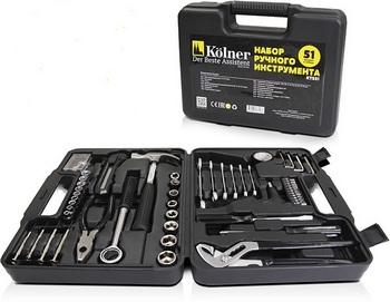 Набор инструментов Kolner KTS 51 набор инструментов kolner kts 123 123 предмета