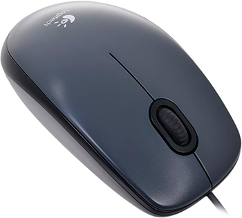 Мышь Logitech Mouse M 90 Grey USB (910-001794) цена и фото