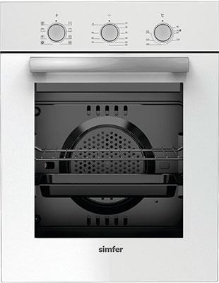 Встраиваемый электрический духовой шкаф Simfer B4EC 18011 встраиваемый электрический духовой шкаф smeg sf 4120 mcn