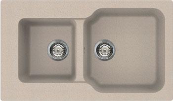 Кухонная мойка OMOIKIRI Maru 86-2-SA Tetogranit/бежевый (4993286)