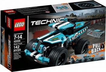 Конструктор Lego TECHNIC Трюковой грузовик 42059 toys for children china brand 355 self locking bricks compatible with lego technic rescue helicopter 8068 no original box