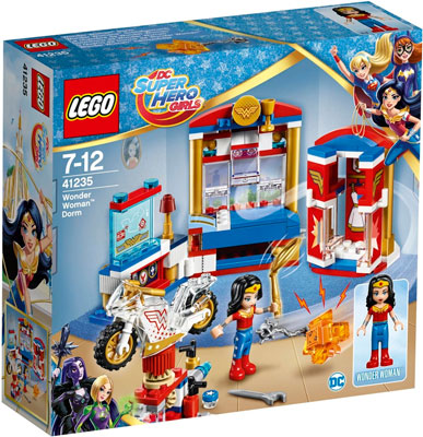 Конструктор Lego SUPER HERO GIRLS Дом Чудо-женщины 41235-L jeruan home 7 video door phone record intercom system kit rfid access ir camera 700tvl analog camera 8gb sd card e lock page 8