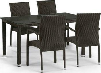 Комплект мебели Афина T 256 A/Y 379 A-W 53 Brown it8712f a hxs