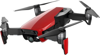 Квадрокоптер DJI MAVIC Air (EU) Flame Red квадрокоптер dji mavic air с камерой белый