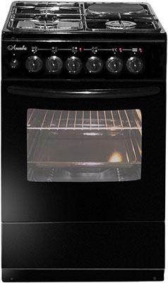 Комбинированная плита Лысьва ЭГ 1/3г01 М2С-2у черная без крышки щит мастер 2у