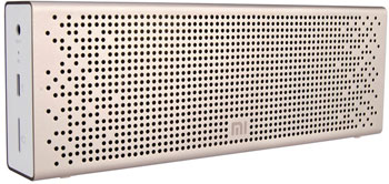 Колонка портативная Xiaomi Mi Bluetooth Speaker (Gold) MDZ-26-DB QBH 4104 GL портативная колонка fender monterey bluetooth speaker black silver