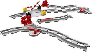 Конструктор Lego DUPLO Town: Рельсы 10882