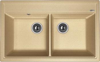 Кухонная мойка Florentina Липси-820 820х510 бежевый FG искусственный камень