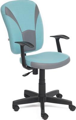 Кресло Tetchair OSTIN ткань голубой/серый 2613/12 кресло tetchair ostin ткань серый фисташковый мираж грей tw 25