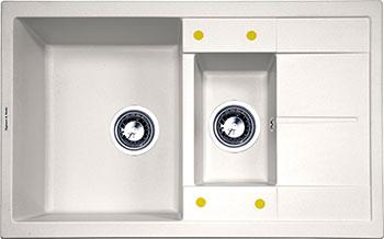 Кухонная мойка Zigmund amp Shtain Rechteck 780.2 индийская ваниль диспенсер для моющего средства zigmund amp shtain a 002 индийская ваниль