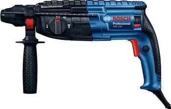 Перфоратор Bosch GBH 240 0611272100 перфоратор с патроном sds plus pbh 3000 2 fre 750 вт 2 8 дж bosch бош