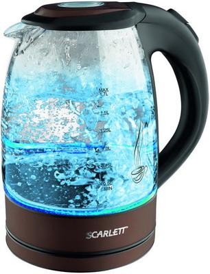 Чайник электрический Scarlett SC-EK 27 G 98 scarlett sc ek27g18 black чайник электрический