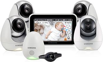 Видеоняня Samsung SEW-3057 WPX4 видеоняня samsung smartcam snh c6417bn