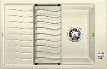 Кухонная мойка BLANCO ELON XL 6S SILGRANIT жасмин с клапаном-автоматом inFino 524839 мойка кухонная blanco elon xl 6 s жасмин с клапаном автоматом 518740