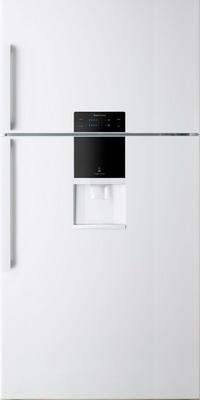 Двухкамерный холодильник Daewoo FGK 56 WFG белый холодильник daewoo fgk 51wfg