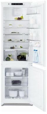 Встраиваемый двухкамерный холодильник Electrolux ENN 92853 CW встраиваемый двухкамерный холодильник electrolux enn 3153 aow