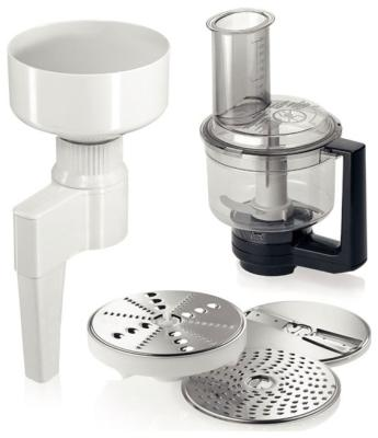 Мельница для зерна, мультимиксер с комплектом насадок Bosch MUZXLVE1 комплект насадок bosch muzxlve1