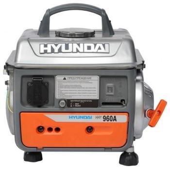 Электрический генератор и электростанция Hyundai HHY 960 A генератор бензиновый hyundai hhy 5000f