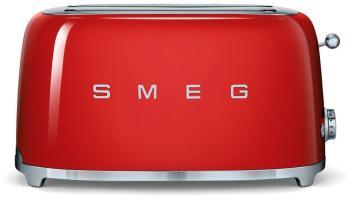 Тостер Smeg TSF 02 RDEU красный тостер smeg tsf 01 bleu чёрный