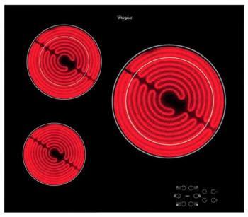 Встраиваемая электрическая варочная панель Whirlpool AKT 8030/NE варочная панель электрическая whirlpool akt 8130 lx черный