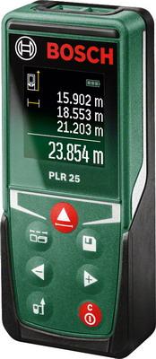 Дальномер лазерный Bosch PLR 25 лазерный дальномер bosch plr 50 c 0603672220