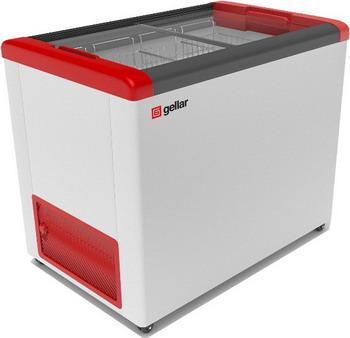 Морозильный ларь Gellar FG 300 C красный морозильный ларь бирюса б 260к
