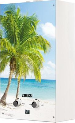 Газовый водонагреватель Zanussi GWH 10 Fonte Glass Paradiso водонагреватель проточный zanussi gwh 10 fonte glass la spezia 18 5 квт