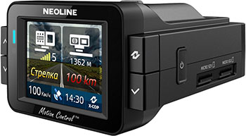 Автомобильный видеорегистратор Neoline X-COP 9100 держатель автомобильный neoline fixit m3