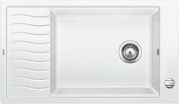 Кухонная мойка BLANCO ELON XL 8 S белый мойка кухонная blanco elon xl 6 s шампань с клапаном автоматом 518741