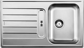 Кухонная мойка BLANCO LIVIT 45 S нерж. сталь полированная кухонная мойка blanco livit 6 s centric нерж сталь полированная с клапаном автоматом